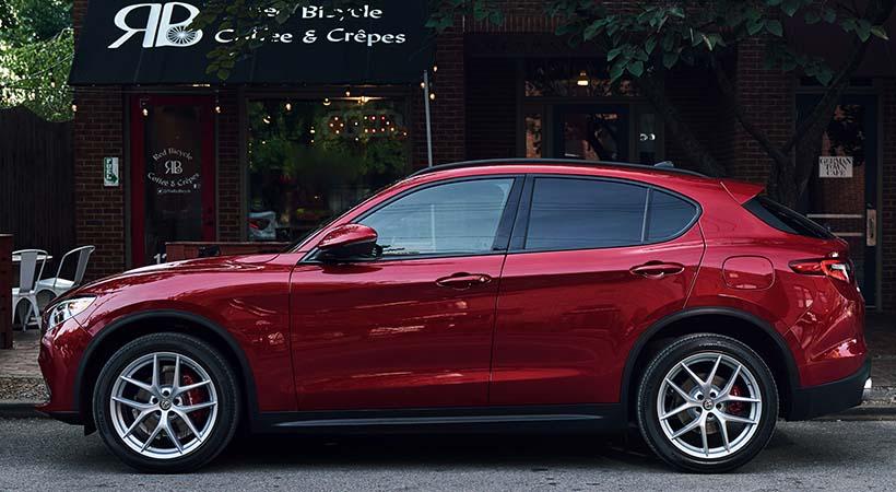 Test Drive Alfa Romeo Stelvio Ti 2018