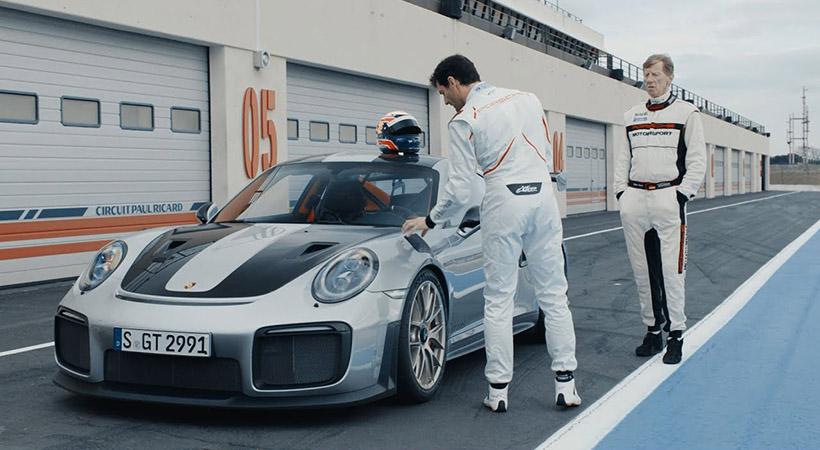 Walter Rhörl vs Mark Webber GT2 RS 1