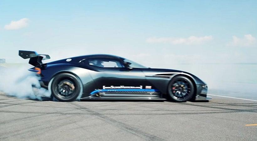 Aston Martin Vulcan en Anglesey