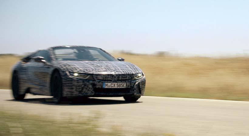 BMW i8 Roadster 2018, debut en el Auto Show Frankfurt
