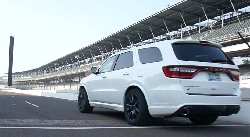 Video Dodge Durango SRT 2018 en el Indianapolis Motor Speedway