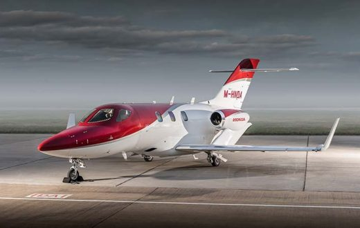 Test Fly HondaJet