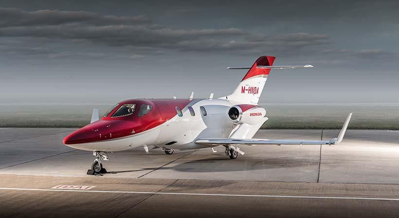 Test Fly HondaJet