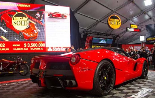 Top 10 autos más caros subasta Mecum Monterey Car Week 2017