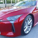 Prueba de manejo Lexus LC500h 2017