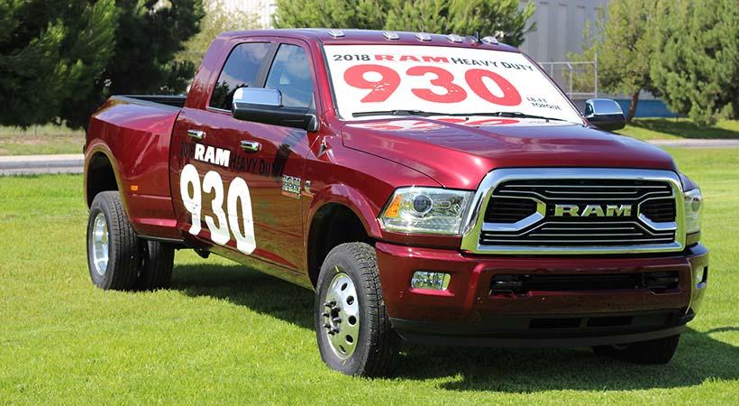 Pickup Ram 3500 2018 Para Remolcar Hasta 30 000 Libras