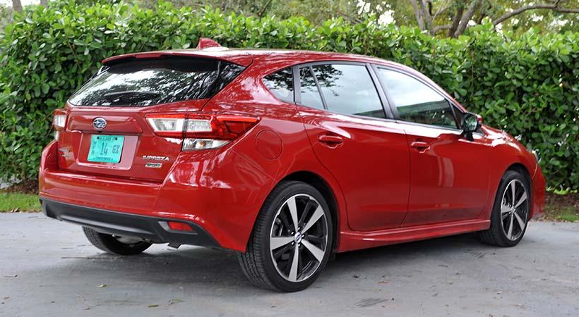 Test Drive Subaru Impreza Sport 2017