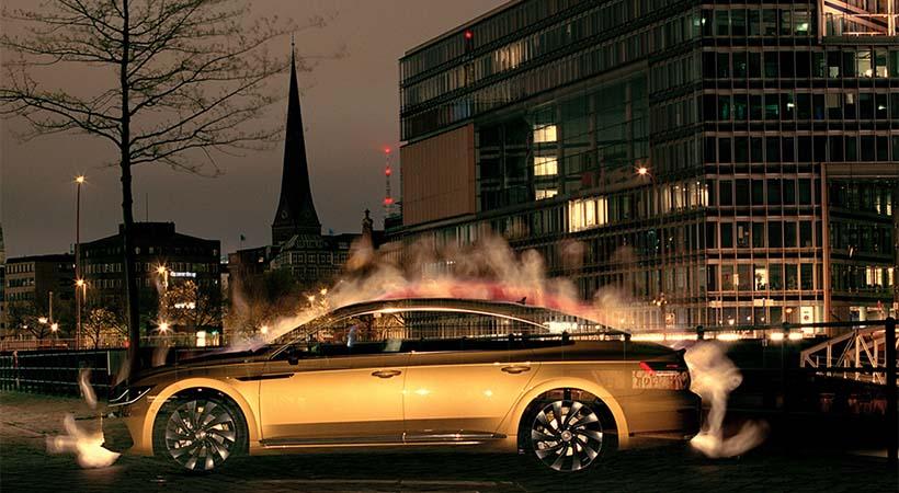Volkswagen Arteon 2018 obra de arte