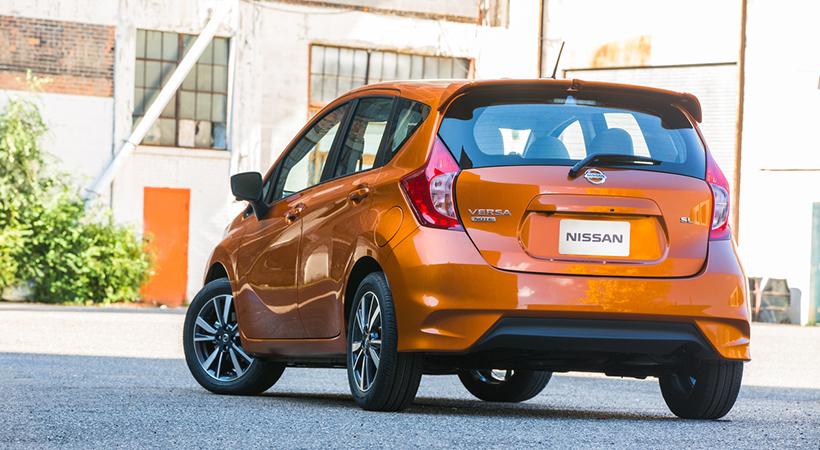 Precio Nissan Versa Note 2018 sin cambio a pesar de las mejores
