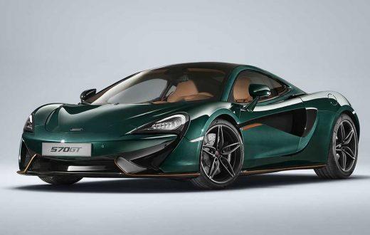 McLaren 570GT XP Green, seis unidades sólo para Europa