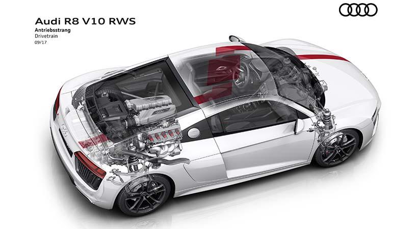 Audi R8 V10 RWS 2019