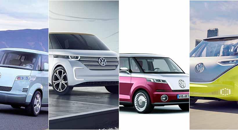 Nuevo Volkswagen Microbús, Volkswagen I.D. Buzz concept, Volkswagen BUDD-e concept, Volkswagen Microbús concept, Volkswagen Bulli Concept