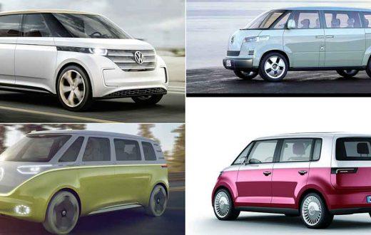 Top 4 conceptos que darán origen al nuevo Volkswagen Microbús