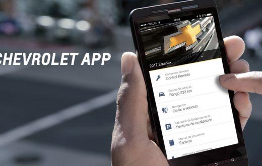 aplicación móvil myChevrolet, smartphone, Chevrolet OnStar