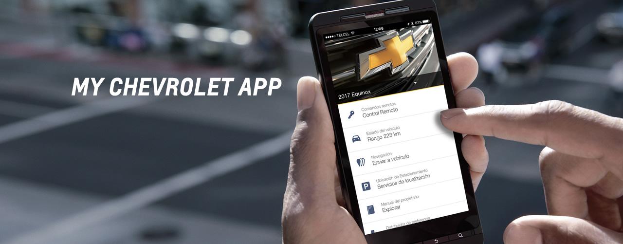 aplicación móvil mychevrolet, controla tu auto desde tu smartphone