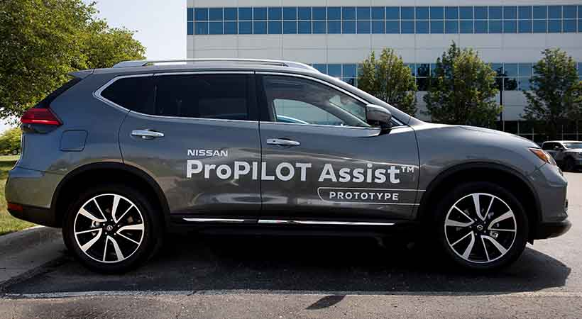 Nissan ProPILOT Assist, video Nissan ProPILOT Assist, Nissan ProPILOT Assist como funciona