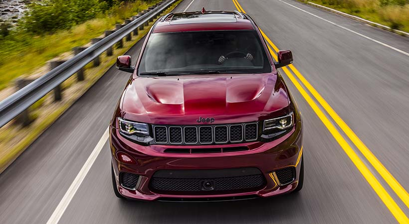 Test Drive Jeep Grand Cherokee Trackhawk, no hay nada igual