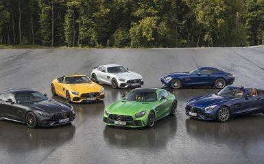 Test Drive Mercedes-AMG GT Family 2018 en Alemania