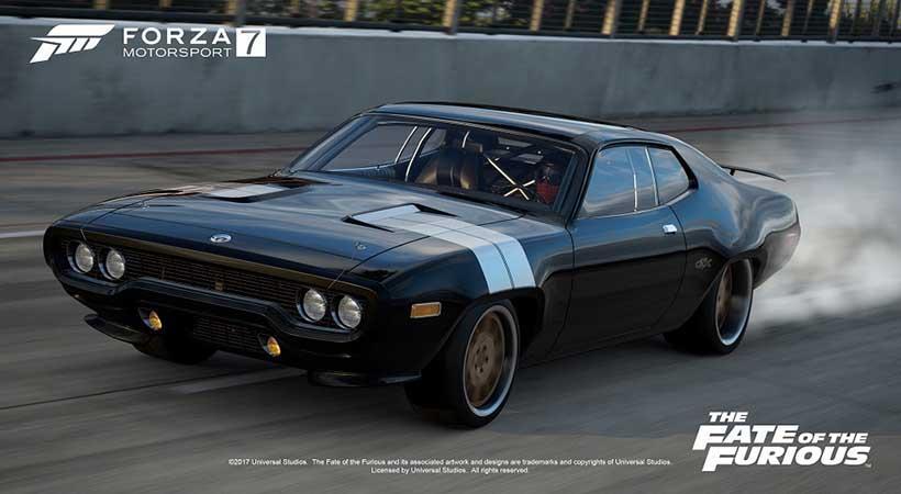 Forza Motorsport 7, autos de Rápidos y Furiosos, autos Fate of the furious, mejores videojuegos de carreras