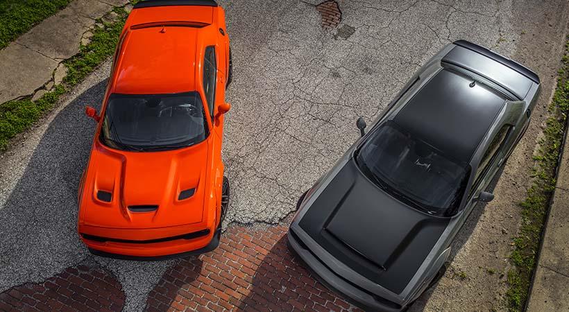 Video Dodge Challenger Hellcat Wide Body