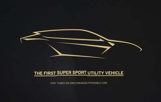 Lamborghini Super Sports Utility Vehicle