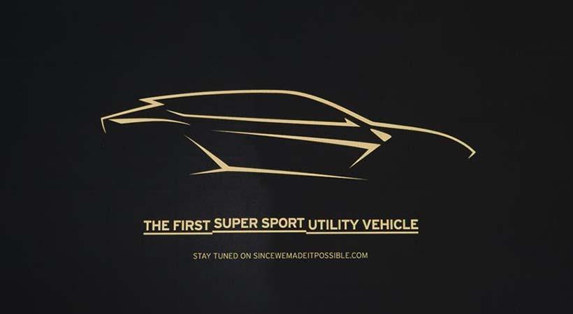 Lamborghini Super Sports Utility Vehicle