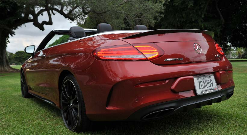 Test Drive Mercedes-AMG C43 2017