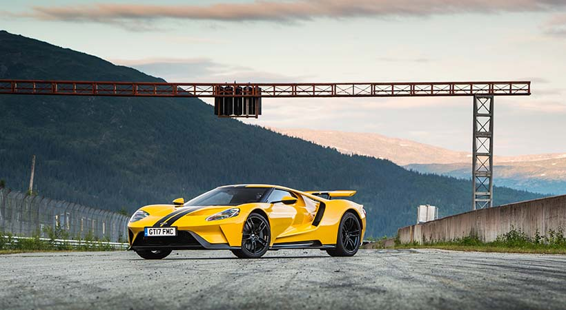 Record Ford GT