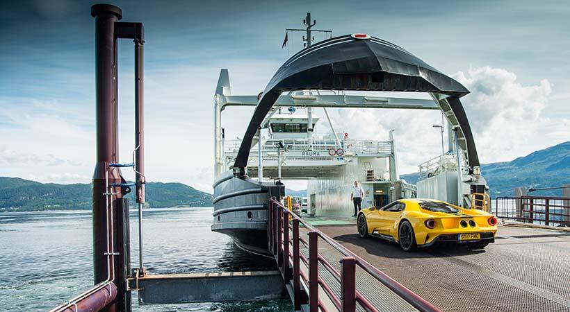 Record Ford GT en Circuito del Círculo Ártico, la cima del mundo