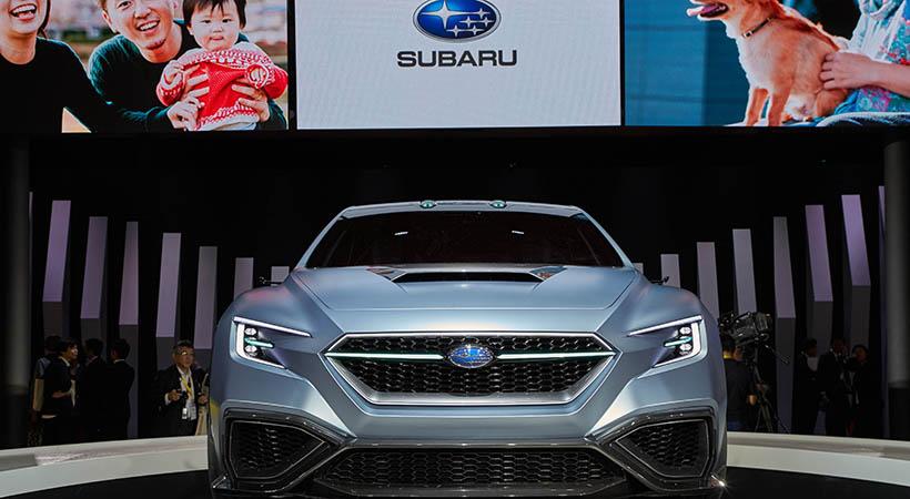 Triple debut Subaru