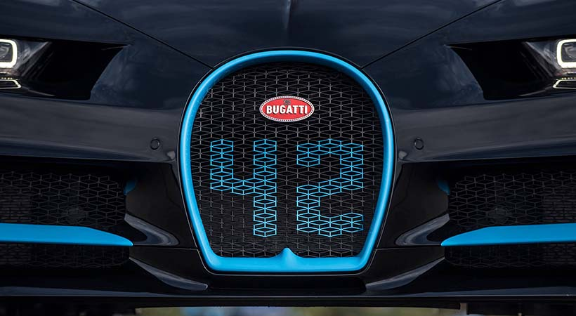 Bugatti vendió 70 unidades del Chiron