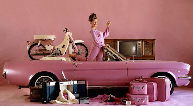 Autos de las Playmates: 1964