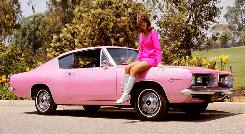 Autos de las Playmates: 1967