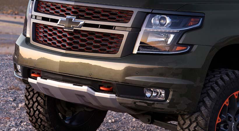 Chevrolet Suburban Concept para la vida al aire libre