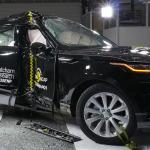 Range Rover Velar, 5 estrellas en prueba de choque