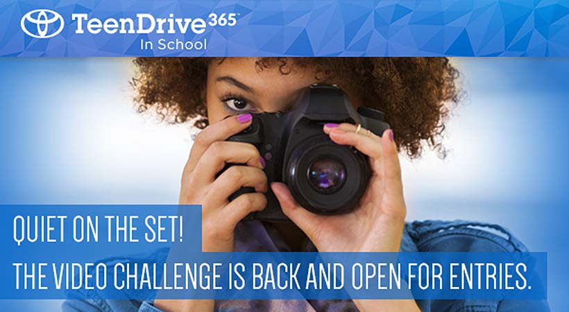Toyota TeenDrive365 Video Challenge 2018