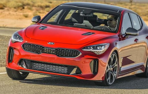 Test Drive Kia Stinger 2018