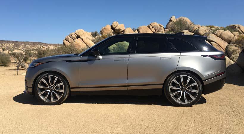 Video Range Rover Velar 2018