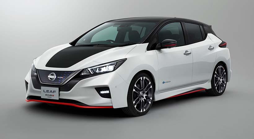 Nissan LEAF NISmo, debut en el Auto Show Tokio 2017