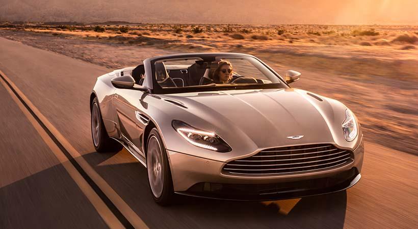 Aston Martin DB11 Volante, 510 caballos de fuerza al aire libre
