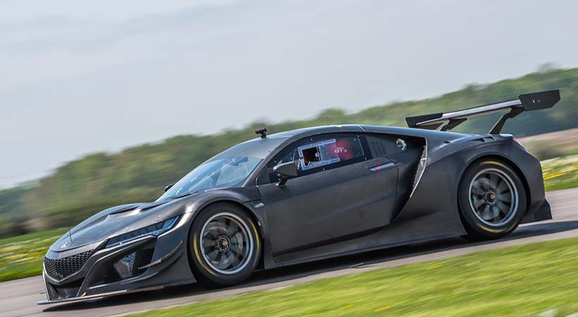 Acura NSX GT3 Race Car