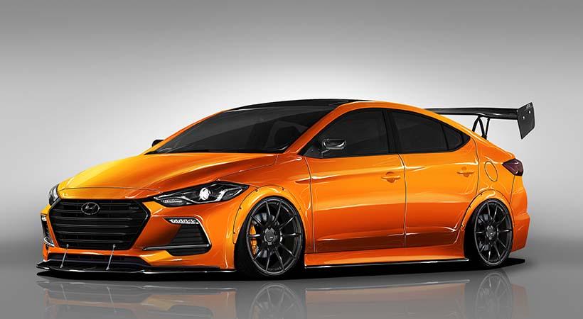 Hyundai Elantra Sport BTR Edition Concept