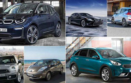 Autos híbridos vs autos eléctricos
