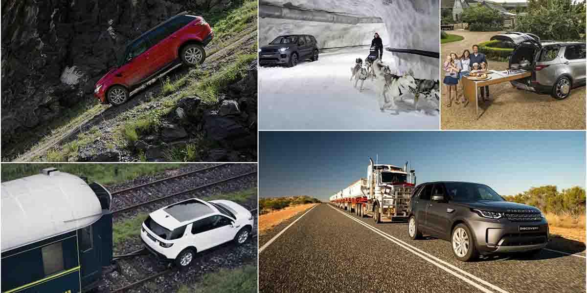 Top 5 videos sorprendentes de Land Rover, Land Rover, Land Rover Discovery, Lando Rover Discovery Sport, videos Land Rover, videos Range Rover