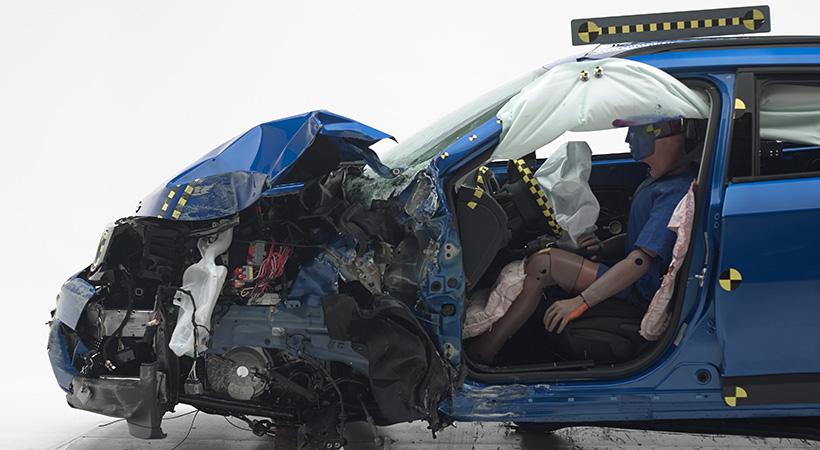 Jeep Compass 2017 Top Safety Pick en pruebas de choque
