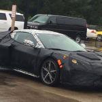 Chevrolet Corvette con motor central