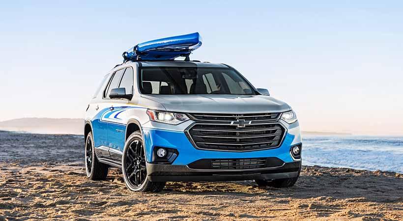 Chevrolet Traverse SUP concept, SEMA Show 2017, SEMA Show Las Vegas 2017, SUV deportivos