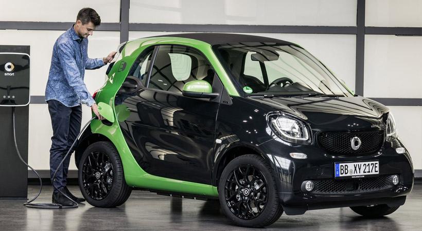 Autos híbridos vs autos eléctricos: Smart fortwo electric drive