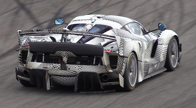 Ferrari FXXK Evo prototipo