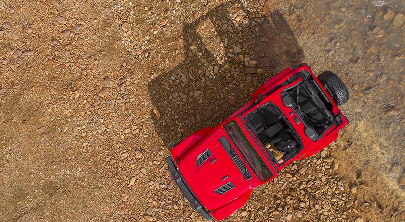 Primeras Imágenes Jeep Wrangler 2018